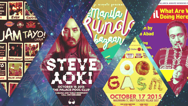 The FHM Weekend Chill Out: Steve Aoki In Manila, A Dose Of Foodgasm, And A Gypsy Bazaar