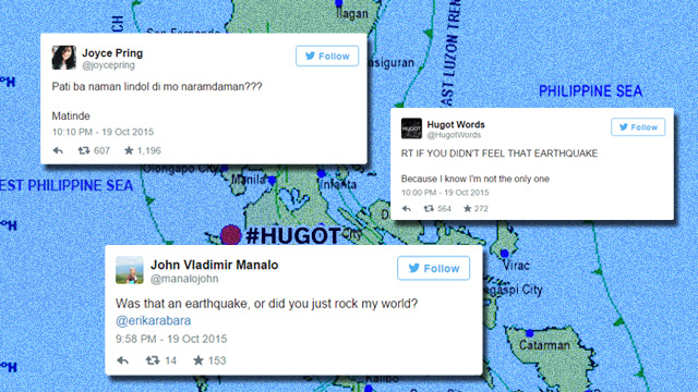 #Lando2Lindol: Clever Hugot Lines Inspired By Monday Night's Earthquake