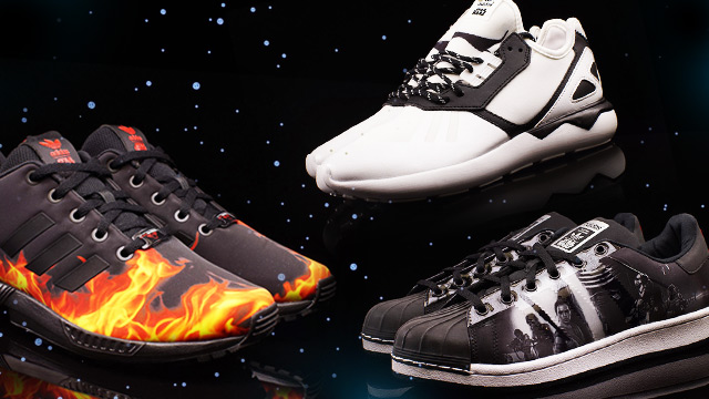 NEW KICKS ALERT: Star Wars X adidas Originals Sneakers Put The Force Into Your Soles