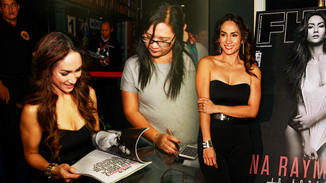 FULL GALLERY: Ina Raymundo's FHM Autograph Signing