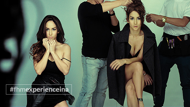 #FHMExperienceIna: Behind-The-Scenes At FHM's November 2015 Cover Shoot