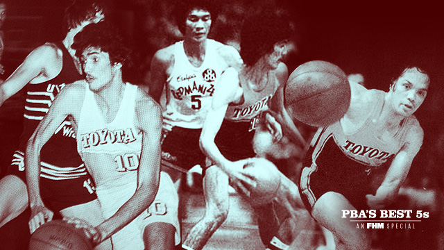 FHM Picks The PBA's All-Decade Starting Fives: The 1970s