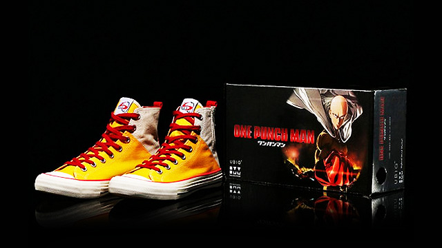 'One-Punch Man' Releases First Saitama Sneakers, Shoes Of The Hero