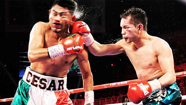 The Brutal Highlights Of Donaire Vs. Juarez...In GIFS!