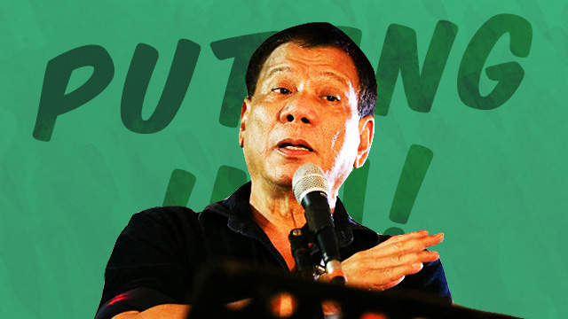 The Best Ways To Use 'Putangina,' According To Duterte