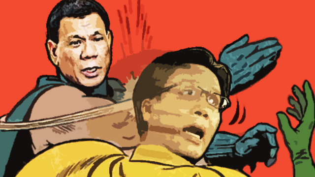 9 More Childish Ways Duterte And Roxas Can Settle Their Score