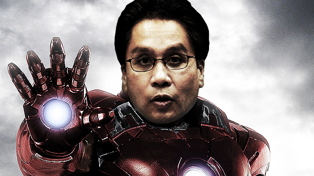 WATCH: Mar Roxas As Iron Man Is Downright Hilarious