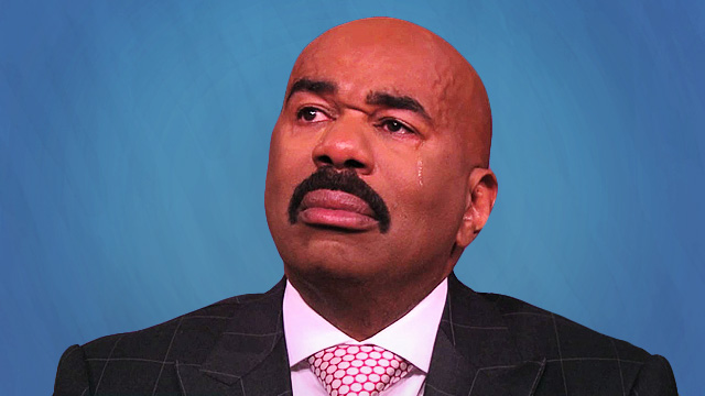 Proof That Steve Harvey Is Just The Unluckiest Man Today