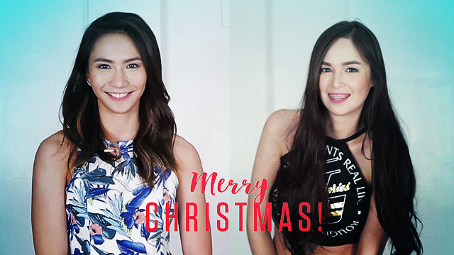 WATCH: Rachel Anne Daquis And Kim Domingo Sing You Belated Christmas Carols!