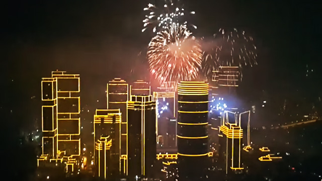WATCH: Manila Welcomes 2016 With Some Serious Bang