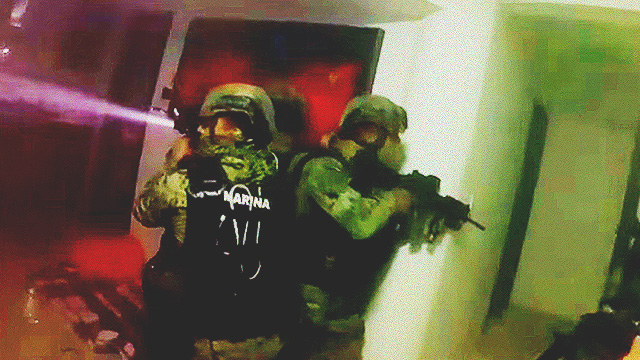 WATCH: Intense GoPro Footage Of Raid That Captured El Chapo
