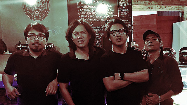 LOOK: The Eraserheads HOHOL!