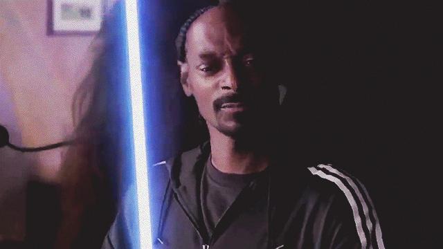 WATCH: Here's Snoop Dogg As A Lightsaber-Wielding Jedi