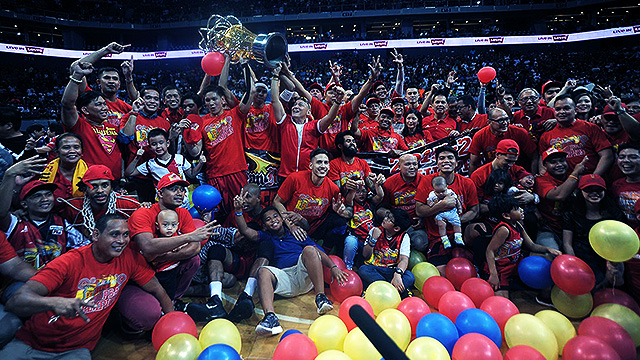 IN PHOTOS: The San Miguel Beermen's Historic Game 7 Victory