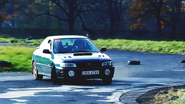 WATCH: Ordinary Subaru Doing Extraordinary Things On The Track