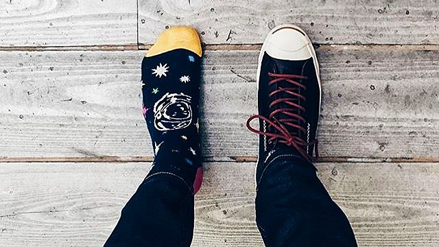 Don't Break These 5 Commandments If You're New To Wearing Printed Socks