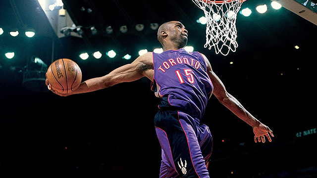 WATCH: No Words Can Describe Vince Carter's Ultimate Toronto Raptors Dunk Mixtape