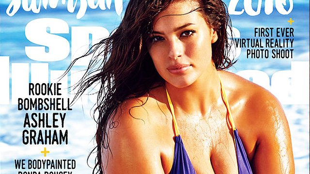 Plus-Size Model Ashley Graham Banners Sports Illustrated's 2016 Swimsuit Issue