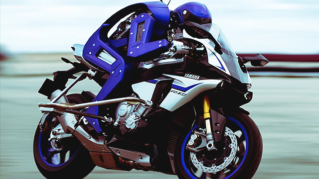 This Robot From Yamaha Can Drive A Motorcyle On Its Own