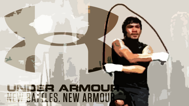 Pacquiao Is 'Not Yet' With Under Armour, But Is In Talks With A 'Major Apparel Brand'