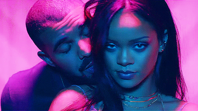 WATCH: Rihanna And Drake Get It On In The Music Videos For 'Work'