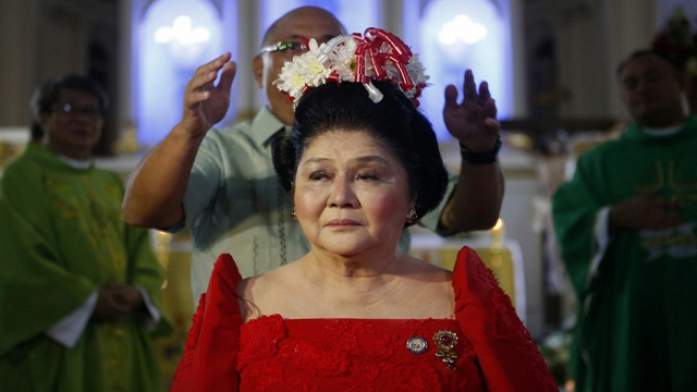 Why Imelda Marcos Was At A Mass For Martial Law Victims