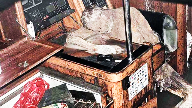 Mummified German Corpse Found Inside Yacht Off Surigao Del Sur
