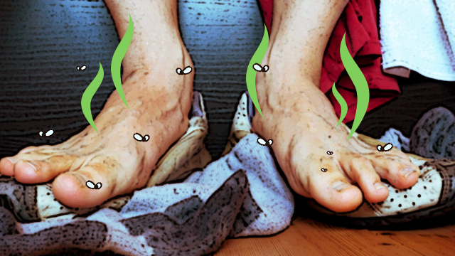 WATCH: How To Naturally Cure Smelly Feet
