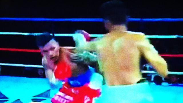 WATCH: Boxer Wears Shorts Showing Support For Duterte, Gets Knocked Out