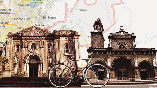The Bicycle Road Trip Plan: The Visita Iglesia Edition