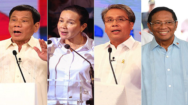12 Heated Quotes From The Second PiliPinas Debates 2016