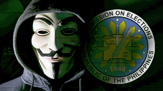 Anonymous PH Issues 'Request' After Hacking Comelec Website