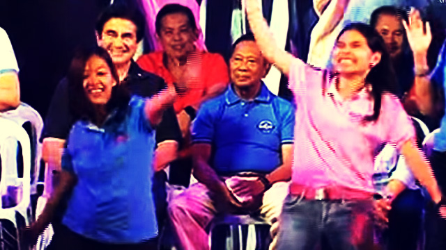 Things Politicos Do For Votes: Abby Binay Dances Just Like Pops