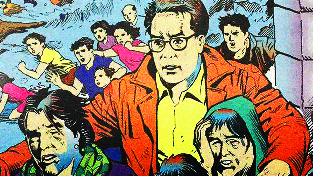 Pro-Roxas Yolanda Comic Book Draws Netizens' Ire