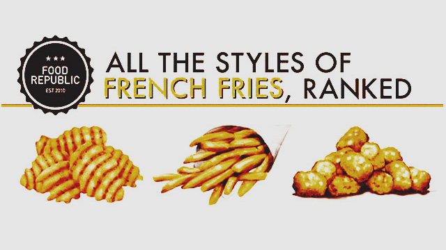 An Illustrated Guide To All The Different Styles Of French Fries