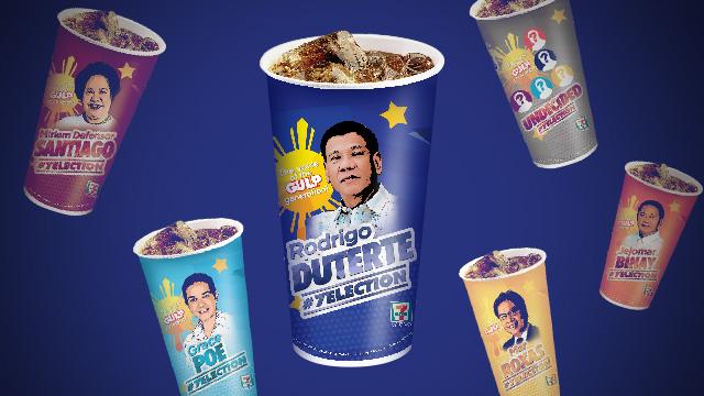 Duterte Leads 7-Eleven's Election Survey In Landslide Result