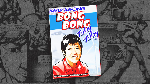 LOOK: Bongbong Marcos Stars In His Own Comics