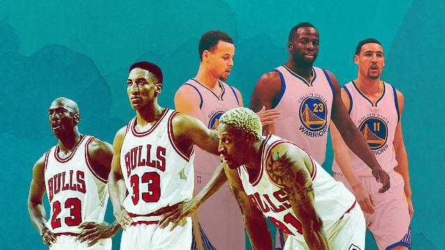 1995-96 Chicago Bulls Vs. 2015-16 Golden State Warriors: By The Numbers