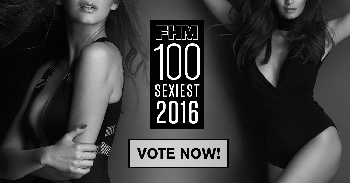 You Can Now Vote For This Year's FHM 100 Sexiest Women!