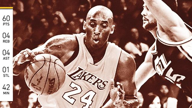 Mamba Out: 60 For Kobe Bryant In His Farewell Game
