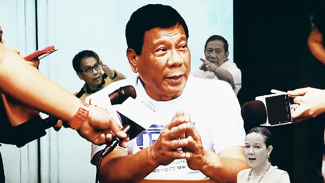Political Rivals Lambast Duterte Over Rape 'Joke'