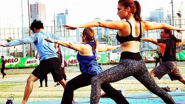 Solenn Heusaff And Rizza Diaz Dish Out Fitness Tips and Tricks