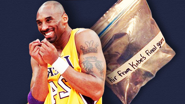 This Bag Of Air From Kobe's Final Game Almost Sold For $15,300