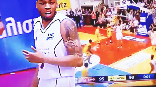 Basketball Player Scores On Own Basket To 'Force' Overtime