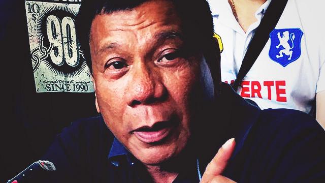 Duterte Backtracks, Admits Owning 'Secret' Bank Account