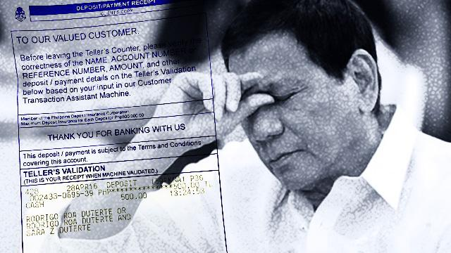 LOOK: Someone Just Proved Duterte's Alleged Secret Bank Account Exists