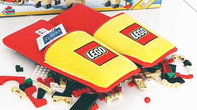 Lego Makes Anti-Lego Slippers To Protect Our Feet