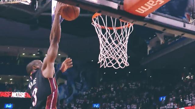 Dwyane Wade One-Ups Kyle Lowry In Battle Of Clutch Baskets