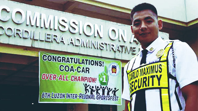 Security Guard Gets Early Birthday Gift After Passing Bar Exams