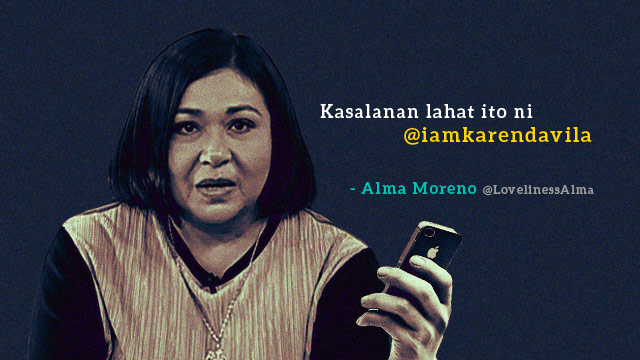 Thank You, Alma Moreno, For The Best Twitter Account Ever
